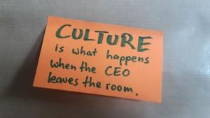 """""""Wir haben nicht die passende Unternehmenskultur""""? Dann nix wie ran!"""